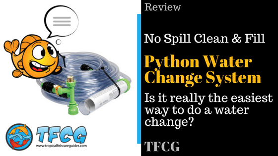The Python Water Changer. Water Chages The Easy Way.