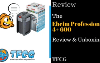 The Eheim Professionel 4+ 600 Review & Unboxing