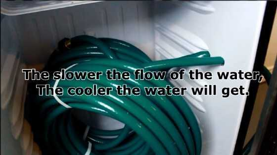 DIY Aquarium Chiller - Slower Water