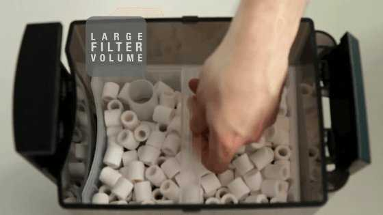 Hydor Canister Filter Large Filter Volume
