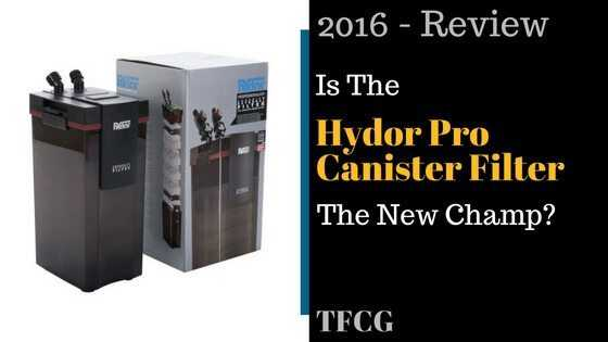Hydor Canister Filter Review: Is This The New Champ?
