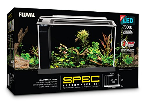 New Fluval Spec V Aquarium Kit 5 Gallon It S Not Perfect 2019