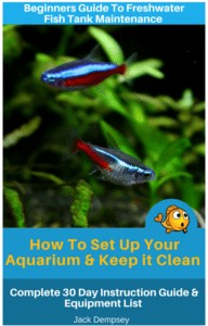 Beginners Guide T Freshwater fish tank maintenance. How To Set Up an Aquarium & Keep it Clean Complete 30 Day Instruction Guide & Equipment List