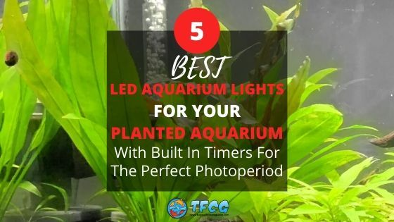 best led aquarium light with timers