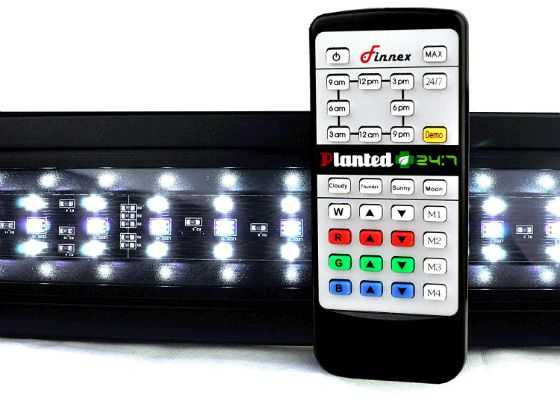 how much led for a planted tank finnes planted +