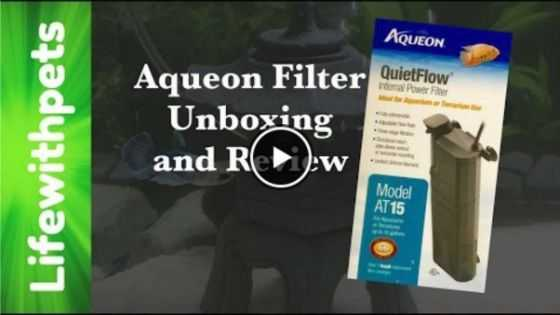 Aqueon Internal Filter Video