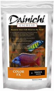 Dainichi Cichlid Food-Color-FX