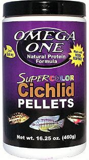 Omega One Cichlid-Food-Super-Color