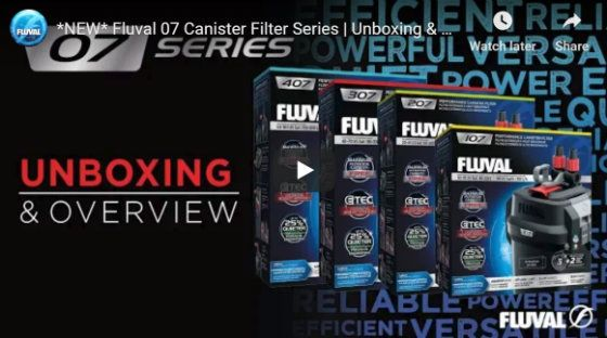 Fluval 07 Canister Filter Review and Unboxing Video