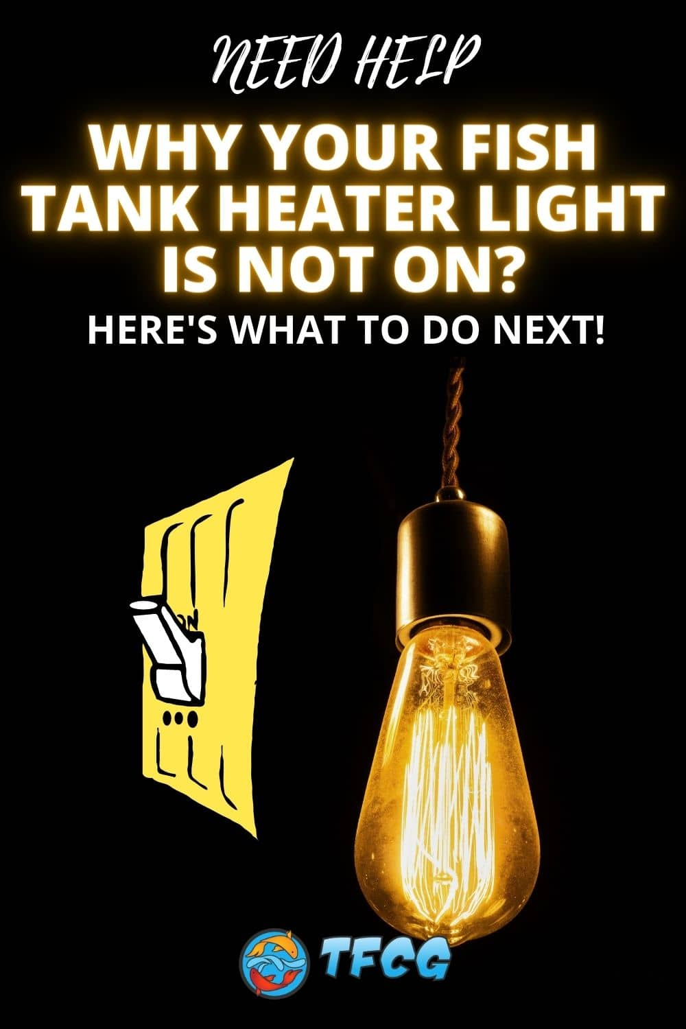 Why Your Fish Tank Heater Light Is Not On
